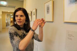 Angela Schneider hat die Ausstellung in die FRIEDA 23 geholt.