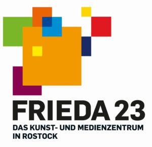 Logo der FRIEDA 23 aus bunten Quadraten