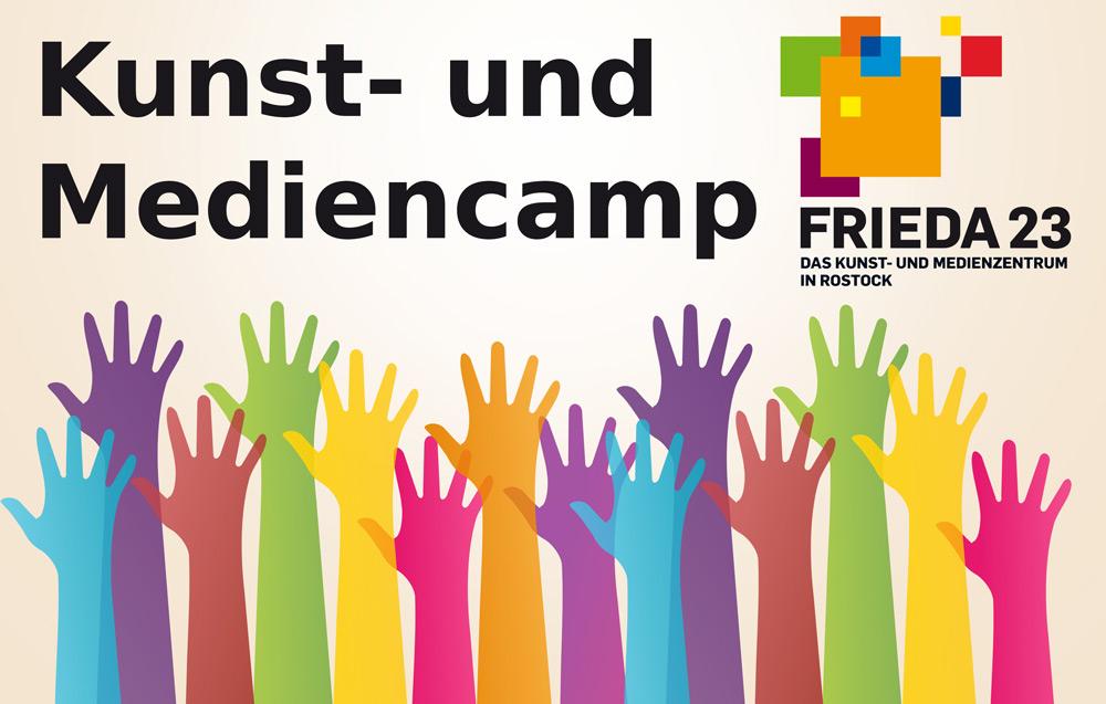 Kunst- und Mediencamp der FRIEDA 23 Logo